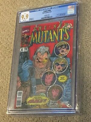 Cable 150 CGC 9.9 White Lenticular (Homage to New Mutants 87 1st app Cable!!)