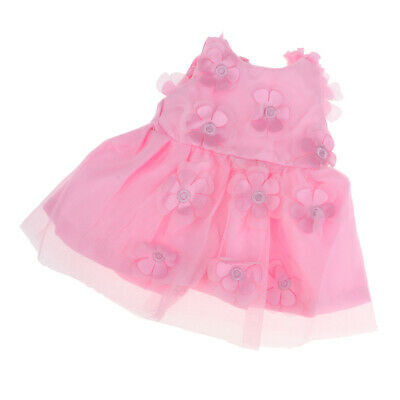Handmade Sweet Doll Clothes Princess Dress for 18inch American Girl Dolls