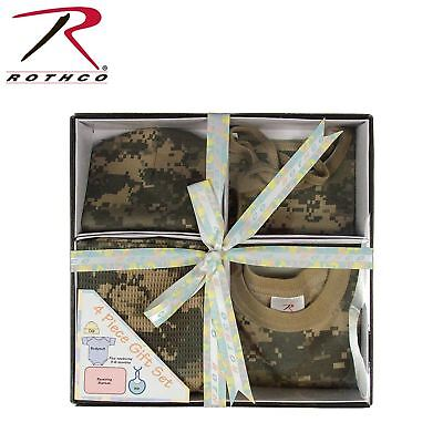 Nfant Baby Gift Set Camo 3 Patterns Available Cotton 4 Pieces Rothco
