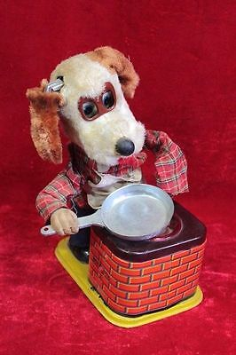 Old Vintage Antique Rare Dog Cooking Toy Home Decor Collectible PR-78