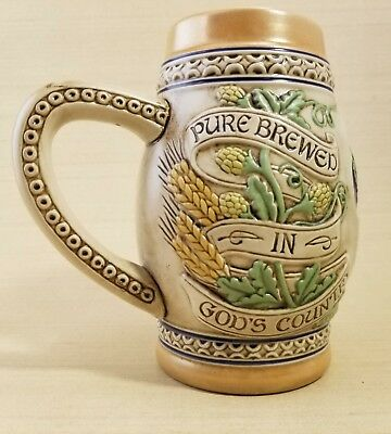 1983 Old Style Beer Stein, Limited Edition G Heileman Brewing Company