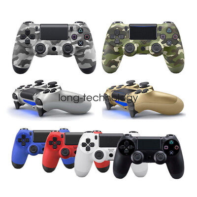 LED Playstation 4 DualShock Wireless Gamepad Controller for Sony PS4 Jet