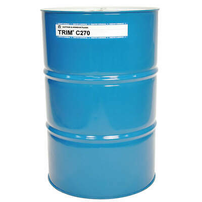 TRIM Coolant,54 gal,Drum, C270/54, Colorless to Pale Yellow