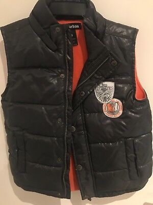 Pumpkin Patch Urban Boys Puffer Vest Size 6 - PRE-LOVED - VERY GOOD CONDITION