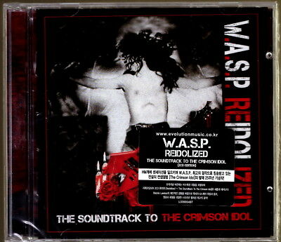W.A.S.P. - Re-Idolized ~The Soundtrack To The Crimson Idol 2CD Korea Import  NEW