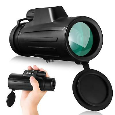 OMZER 10x42 High Power Waterproof Monocular BAK4 FMC Prism With Low Night Vision