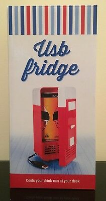 Red USB Mini-Fridge