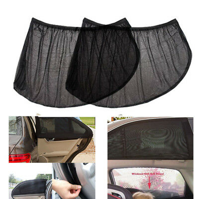 Anti Insect Mosquito Bug Car Window Net Rear Door Mesh Outdoor Camping Netting