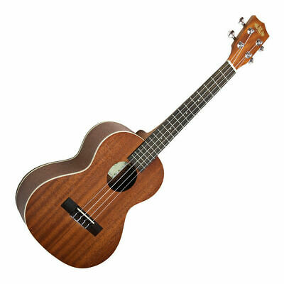 Kala KA-T Mahogany Tenor Ukulele, Satin Finish Aquila Strings
