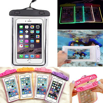 Universal Waterproof Underwater Phone Case Dry Bag Pouch For All Mobile Phone UK
