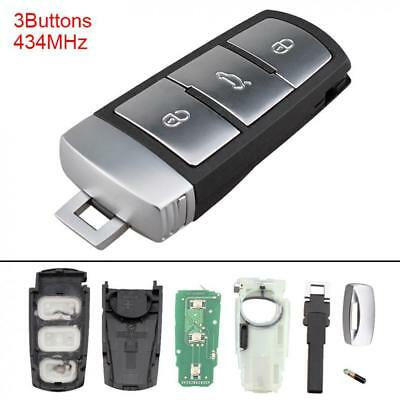 434MHz 3C0959752BA Keyless Entry Car Remote Key Fob for VW Passat B6 3C Magotan