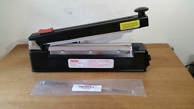 Packer PBS-300C METAL HEAVY DUTY BAG SEALER with cutter 300mm x 2mm seal