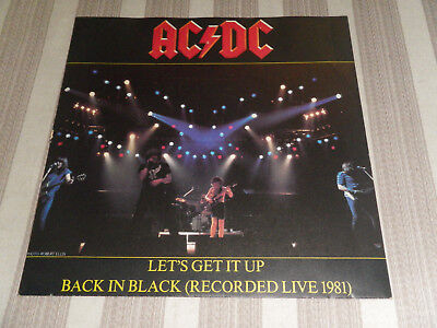 "AC/DC: Let´s Get It Up/ Back In Black, ATL 11 706, GER, 7""/ SINGLE, MINT :-)"
