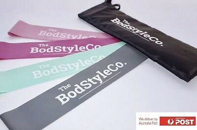 BUY 4 x 4 Packs - Booty Resistance Loop Bands (Set Of 4) With Bags