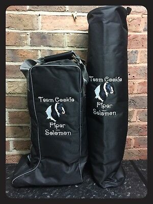 PERSONALISED embroidered Long Boot Bag **Various Colours Available**