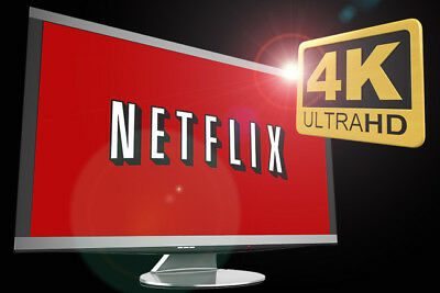 Netflix 4K + HD - Speedy Delivery, 12 Months Warranty