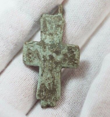 Ancient Byzantine Christian Cross c415