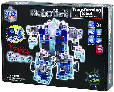 ArTec Robotist Transforming and Programmable Robot Electronic Building Kit - NEW