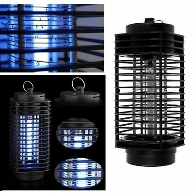 110V/220V Electric Mosquito Fly Bug Insect Zapper Killer With Trap Lamp Blac  JN