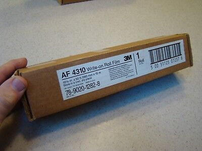 3M Af-4310 Write On Transparancy Roll Film For Overheat Projector 50' Sealed New