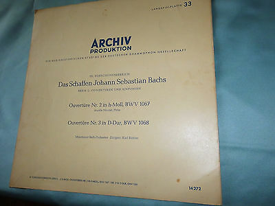 J.S.Bach, Archive Produktion, The works of J.S. Bach, Overture No. 2, + No 3