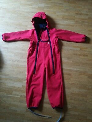 Jakoo Softshell Overall rot 104/110