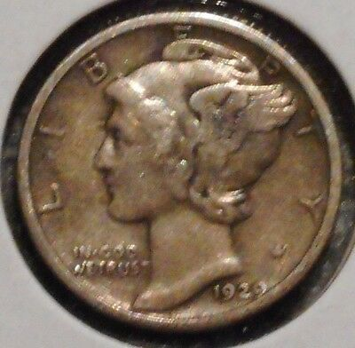 Silver Mercury Dime - 1929 - Early Dates! - $1 Unlimited Shipping
