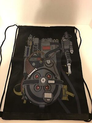 Loot Crate Ghostbusters Proton Pack Drawstring Backpack Bag