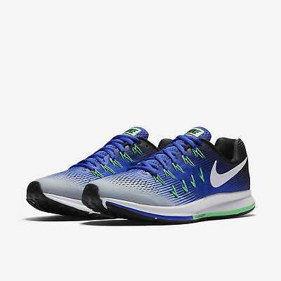 the latest 0caf1 f688d Nike Air Zoom Pegasus 33 Men s Running Training Shoes Blue Wolf Grey 831352  008