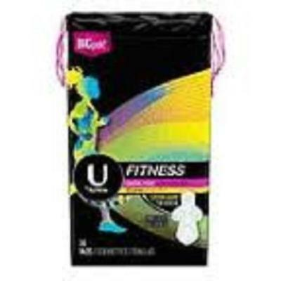 U by Kotex Fitness UltraThin Liners, Heavy, 13ctX8ct 003600046490A2808