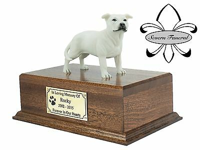 Solid Wood Pet/Dog, Luxury Cremation Urn / Casket Small, Many Breeds to chose.