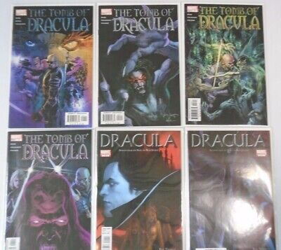 Tomb of Dracula Lot From 11 Different (1998, 2004, 2010)
