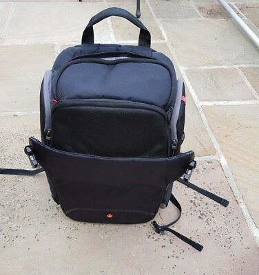 Manfrotto Advanced Travel Rear Backpack - Black
