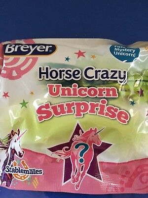 Breyer Collectable Model Stablemates Mystery Unicorn Surprise