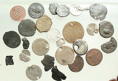 Lot of 20+ Diversen AE & AR  Roman Greek Byzantine Medieval coins