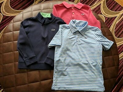 vineyard vines boys 4t LOT 3 items shirts long short sleeve