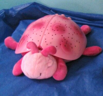 Cloud B Twilight Plush Toy, Pink Ladybug