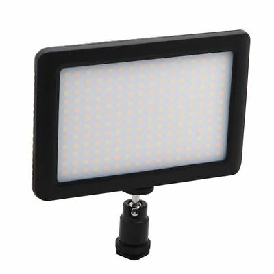 12W 192 LED Studio Video Continuous Light Lamp For Camera DV Camcorder Blac G1E3