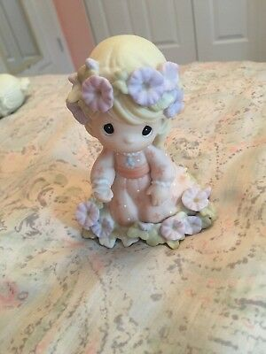 "2003 Precious Moments Figurine, ""You Shall Receive A Crown Of Glory"" #113965"