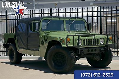 AM General Hummer Military SUV Diesel Military Hummer 1995 Green!