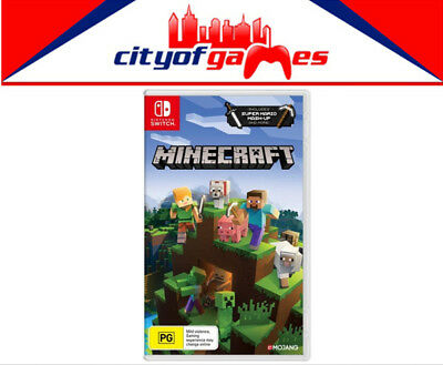 Minecraft Nintendo Switch Edition Game Brand New & Sealed