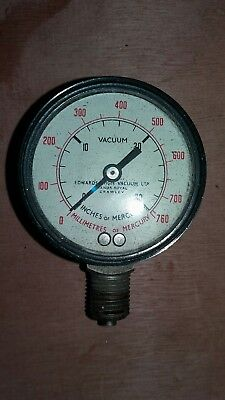 Vintage Vacuum Gauge, Edwards High Vacuum Ltd, England