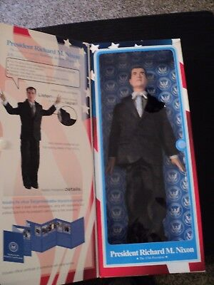 "Toy Presidents 12"" Talking Richard M. Nixon Doll Action Figure *NO BATTERIES*"