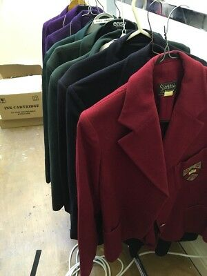 Ex-Hire Job Lot of 10 School Club Blazers Various Conditions and Styles Costumes