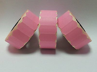 Puma PJ6 / PJ8 - 45,000 Pink Permanent Price Gun Pricing Labels CT4 26 x 12mm