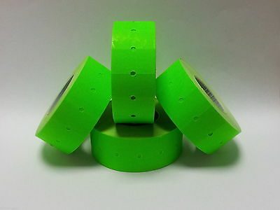15,000 Green Permanent 22mm x 12mm (21mm x 12mm) CT1 Price Gun Labels