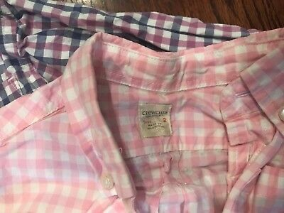 Lot of 2 crewcuts button down shirts size 2T