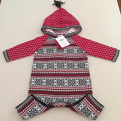 """HANNA ANDERSSON Baby Girl's- Boy's """"HAPPY SWEATER ROMPER"""" 3-6 months 60 cm NEW!!"""