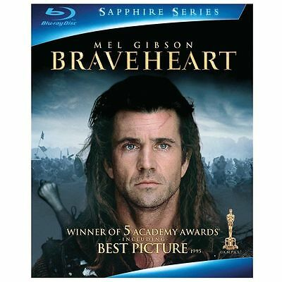 Braveheart (Blu-ray Disc, 2009, 2-Disc Set, Sapphire Edition) **NEW** FAST SHIP!