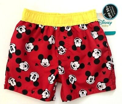 f4e1f1fc4f DISNEY BABY MICKEY Mouse Infant Boys Swim Trunks Sizes 0/3M-3/6M-6/9M-12M  NWT - $7.94 | PicClick